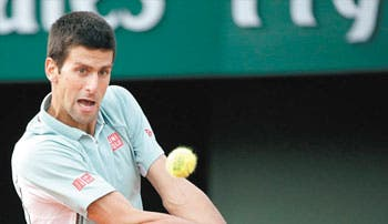 Frío triunfo de Djokovic