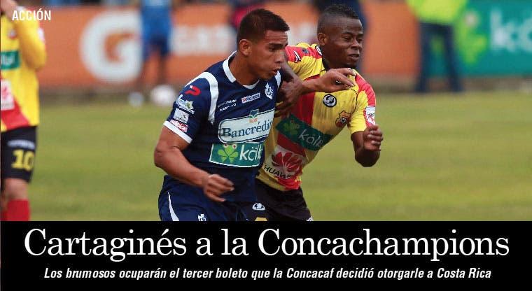 Cartaginés regresa a Concacaf