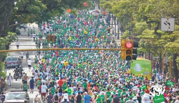 3 mil corredores a San José