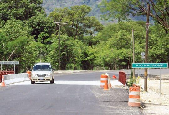Nuevos puentes en Guanacaste al 90%
