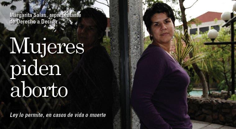 Mujeres piden aborto