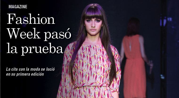 Fashion Week se lució en su debut