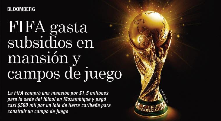 FIFA gasta en mansión y canchas