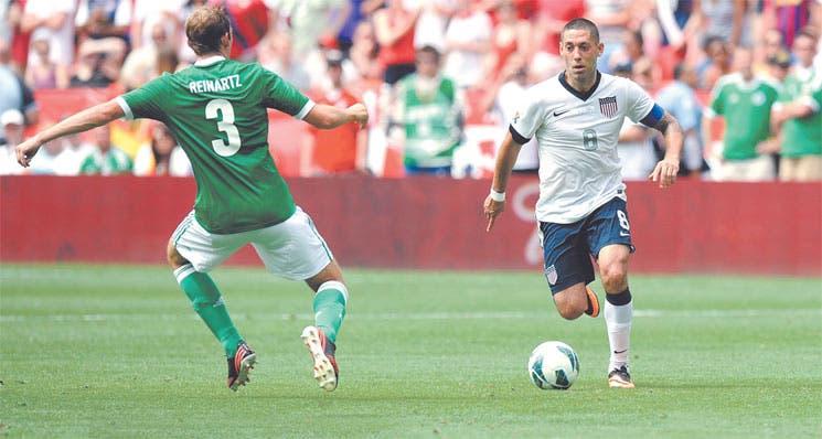 Dempsey atropelló a Alemania