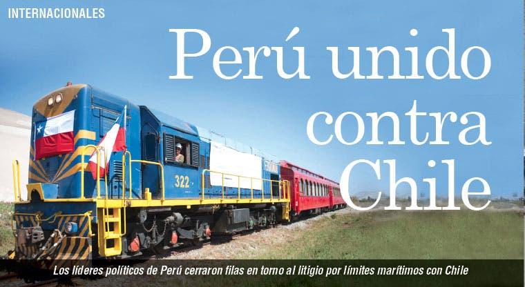 Perú se une ante litigio contra Chile