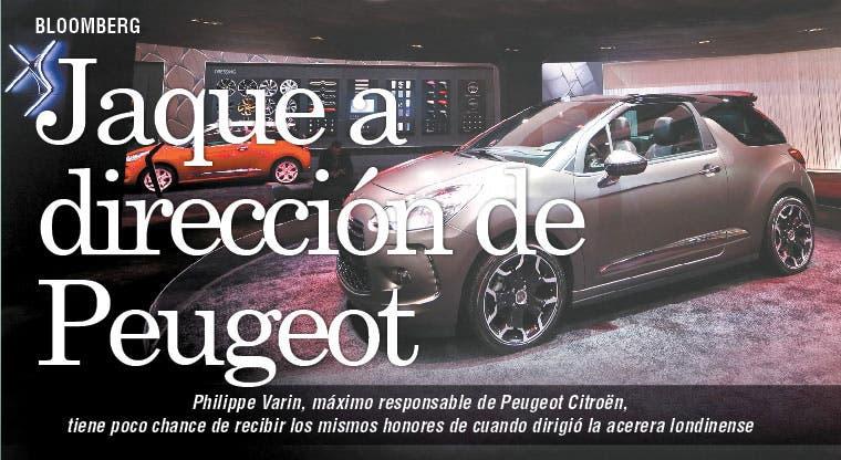 Tambalea titular de Peugeot