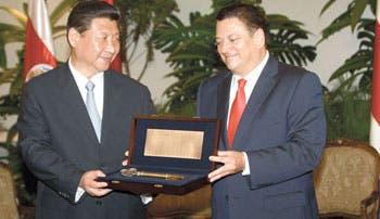 Presidente chino corrió para cumplir agenda