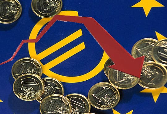 PIB de la eurozona cayó 0,2%
