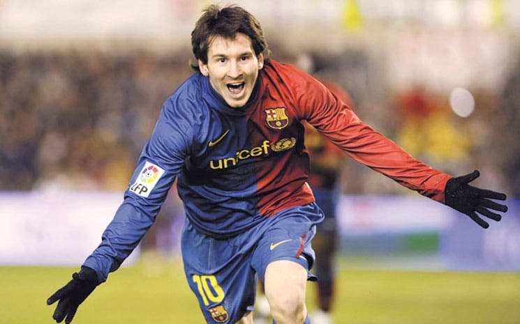 Messi, un as para transmisiones online
