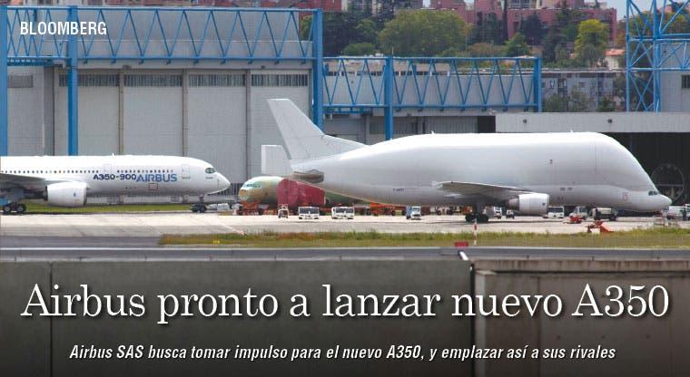 Airbus pronto a lanzar nuevo A350