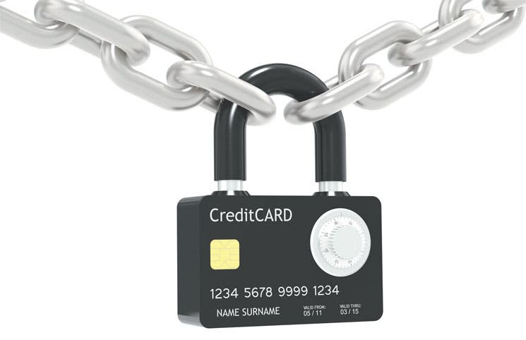 Busque lo más seguro: tarjeta con chip