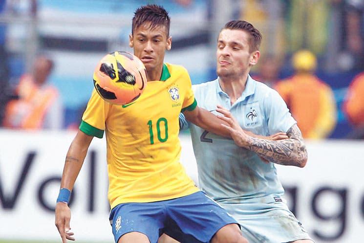 Brasil aplastó a Francia