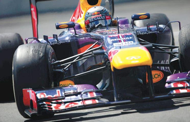 Vettel es un bólido