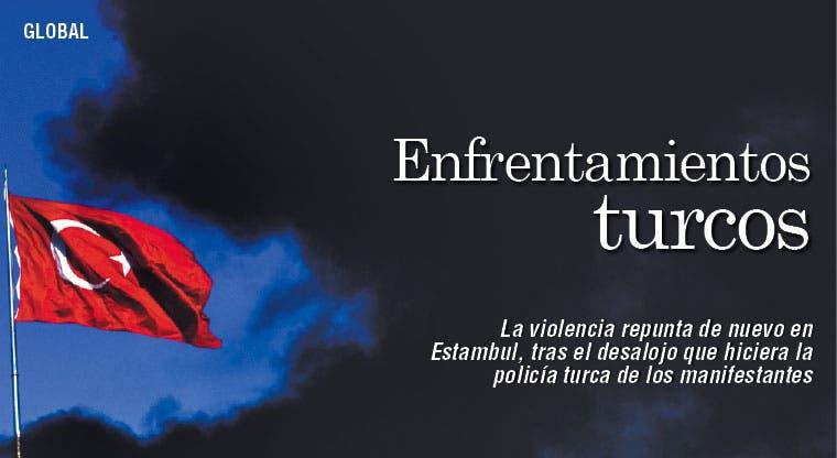 Repunta violencia en Estambul