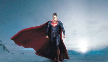 """Man of Steel"", un Superman más humano"