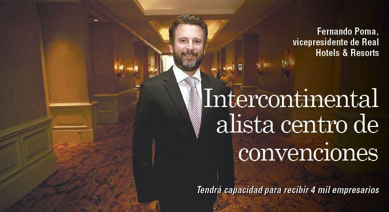 Intercontinental alista centro de convenciones