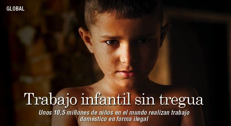 El mundo está plagado de trabajo infantil