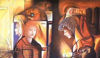 Pinturas que roban miradas
