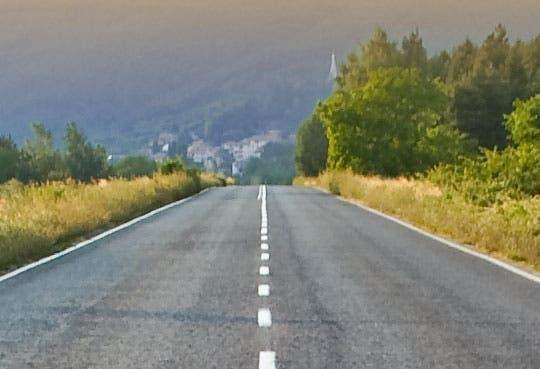 Inicia asfaltado de ruta guanacasteca