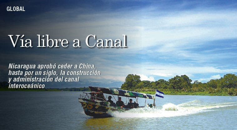 Managua aprueba que China construya canal
