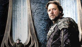 "Zack Snyder y Russell Crowe, ""padres"" de Superman"