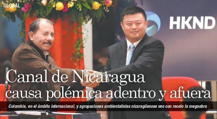 Canal de Nicaragua causa polémica adentro y afuera