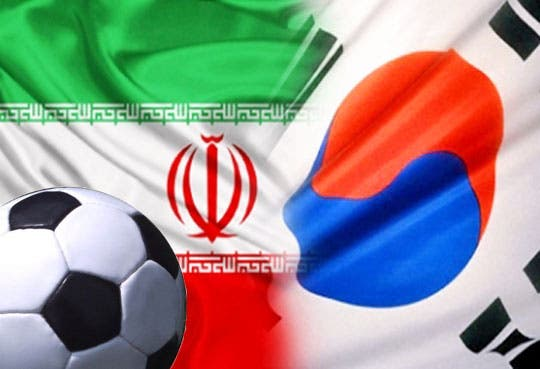 Irán y Corea del Sur a Brasil 2014