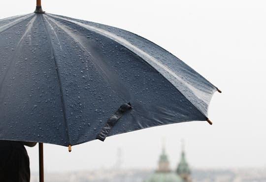 Prepárese para las lluvias de la tarde