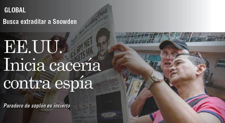"""EE.UU. en cacería abierta contra """"espía"""""""