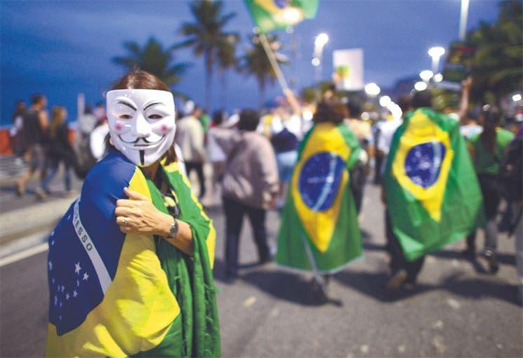 Anuncian nuevas protestas en Brasil