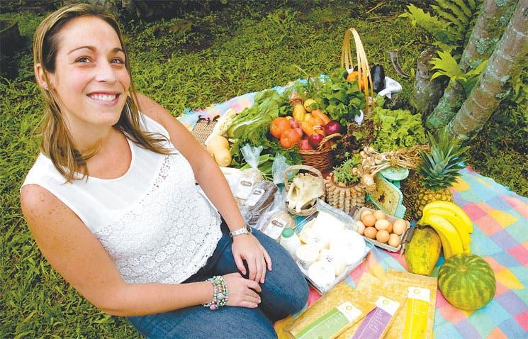 Productos orgánicos hasta su casa