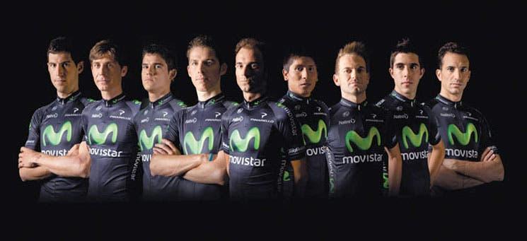 Movistar y sus nueve capos