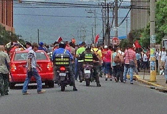 Pacifismo abunda en manifestaciones