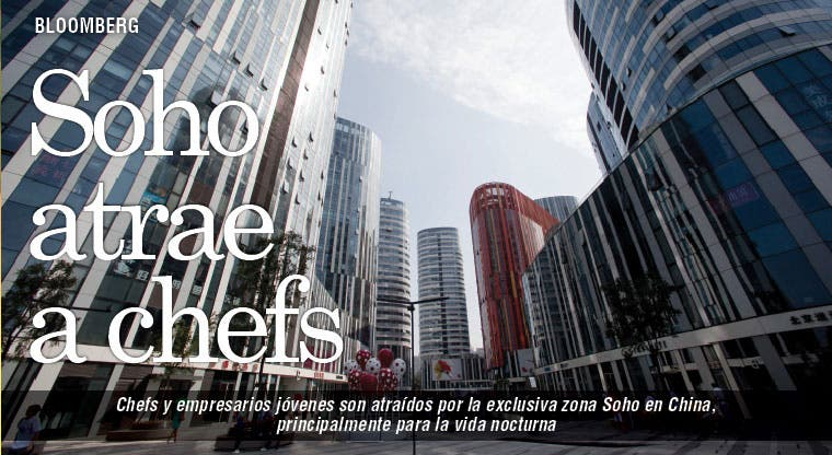 Chefs a zona exclusiva de Soho