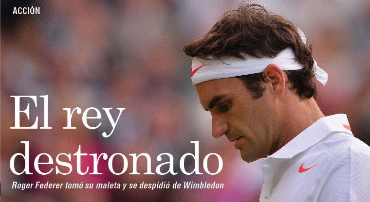 Federer también se despeñó
