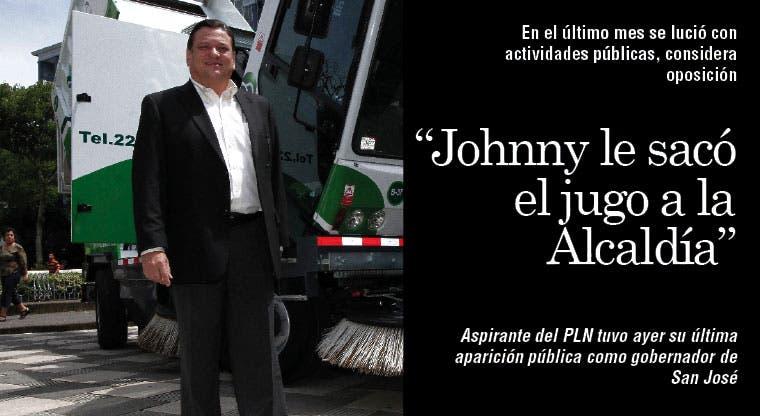 """""""Johnny le sacó el jugo a la Alcaldía"""""""
