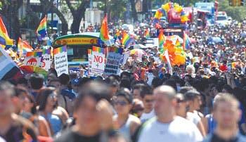 Movimiento pro gay juega su última carta