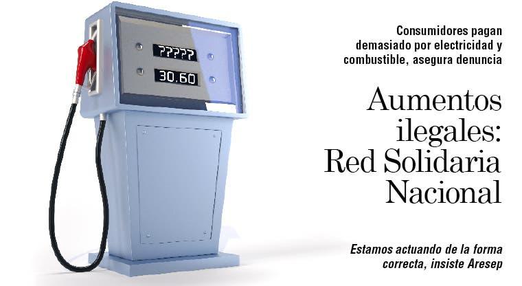 Aumentos ilegales: Red Solidaria Nacional