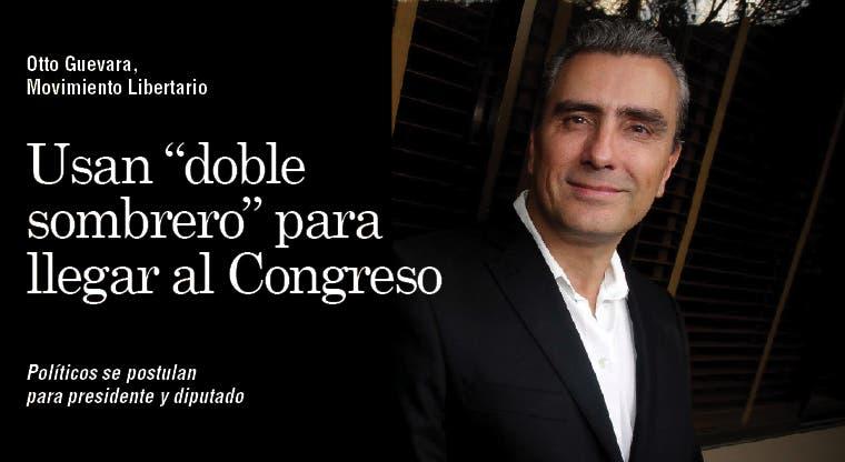 "Usan ""doble sombrero"" para llegar al Congreso"