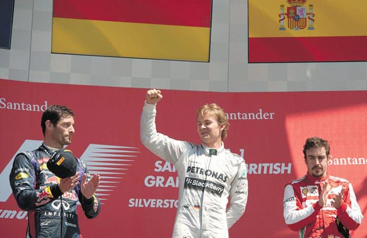 Silverstone para Rosberg