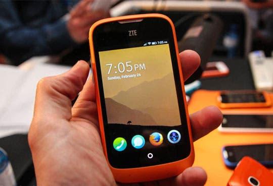 Lanzan smartphone con Firefox OS