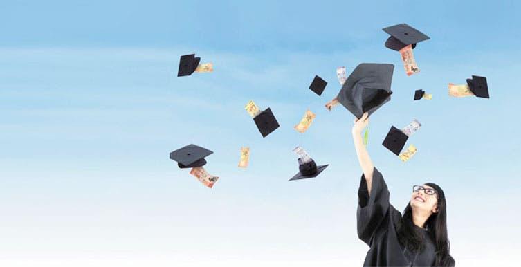 Más dinero, menos graduados
