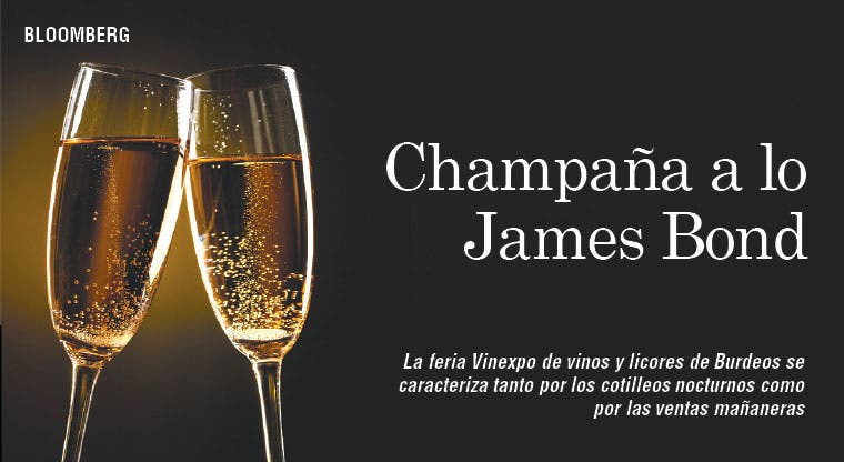 Champaña da brillo a Vinexpo