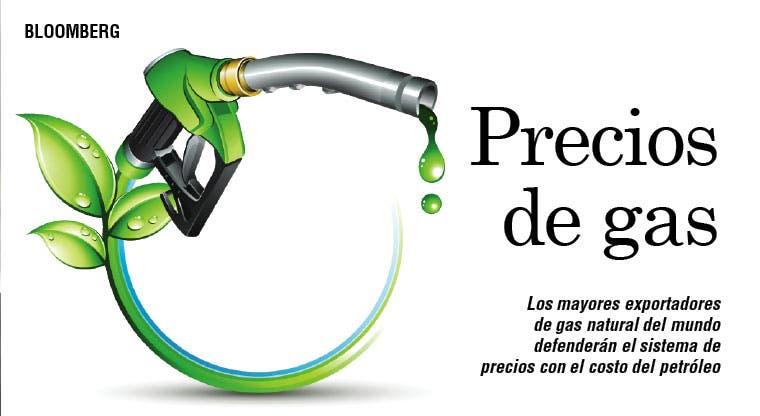Exportadores de gas defienden sistema de precios
