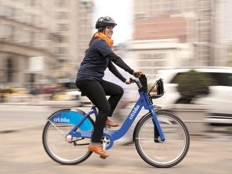 Alquiler de bicicletas triunfa en la Gran Manzana