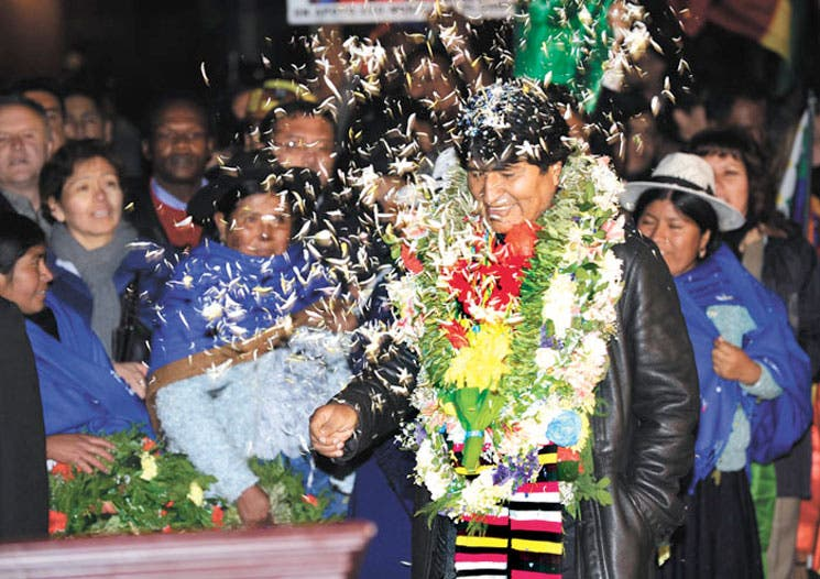 """No basta la disculpa"", dice Evo Morales"