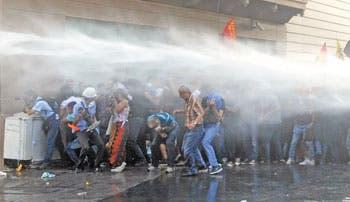 Frustrada apertura de parque Gezi