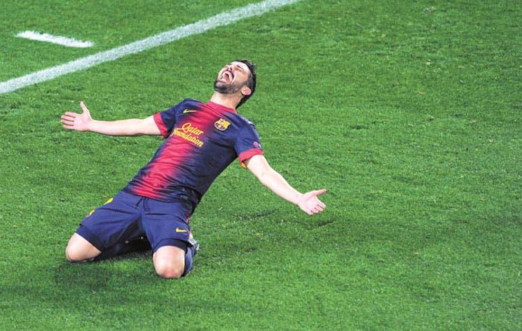 Villa llega al Atlético