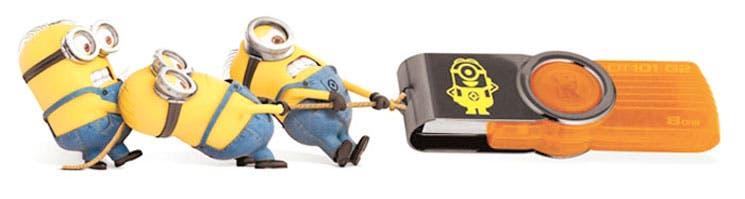 """""""Mi villano favorito"""" personaliza los USB"""