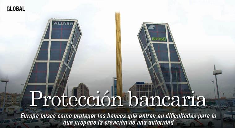 Europa busca evitar quiebra de bancos
